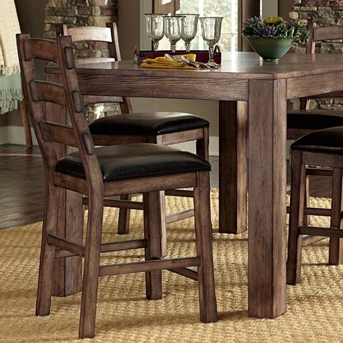 progressive furniture boulder creek counter height dining chair set of 2