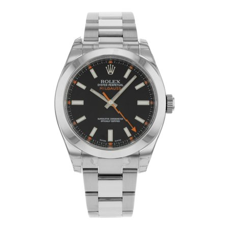 New Rolex Oyster Perpetual Milgauss 116400 BKO Steel Automatic Men