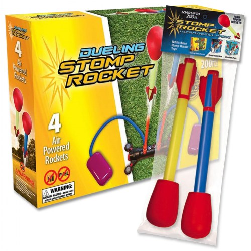 Stomp Rocket Dueling Rockets & Bonus Refill Pack