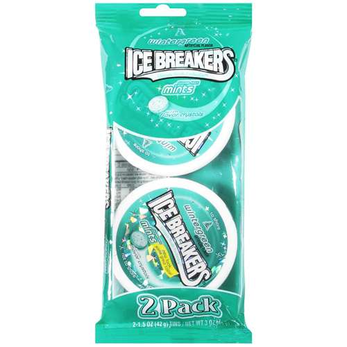 Ice Breakers Wintergreen Mints, 3 oz