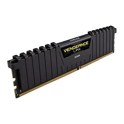 Corsair 8GB DDR4 SDRAM Memory Module - 8 GB (1 x 8 GB) - DDR4 SDRAM - 2400 MHz DDR4-2400/PC4-19200 - 1.20 V - Unbuffered - 288-pin - DIMM
