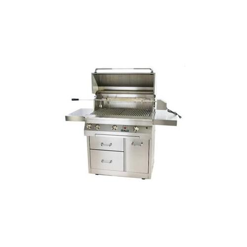 Solaire - Rasmussen SOL-IR-36CX Solaire Premium Cart Only for 36'' Grills