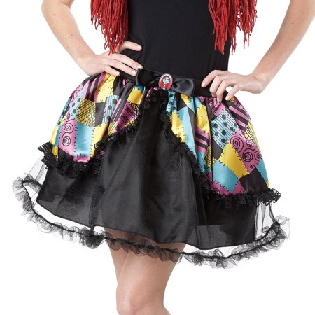 The Nightmare Before Christmas Sally Tutu Dress Up Accessory, Size L/Xl