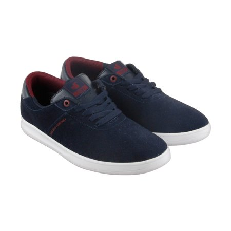 - DVS Rico Sc Mens Blue Suede Lace Up Skate Shoes