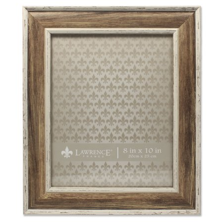 8x10 Weathered Walnut Picture Frame - Domed