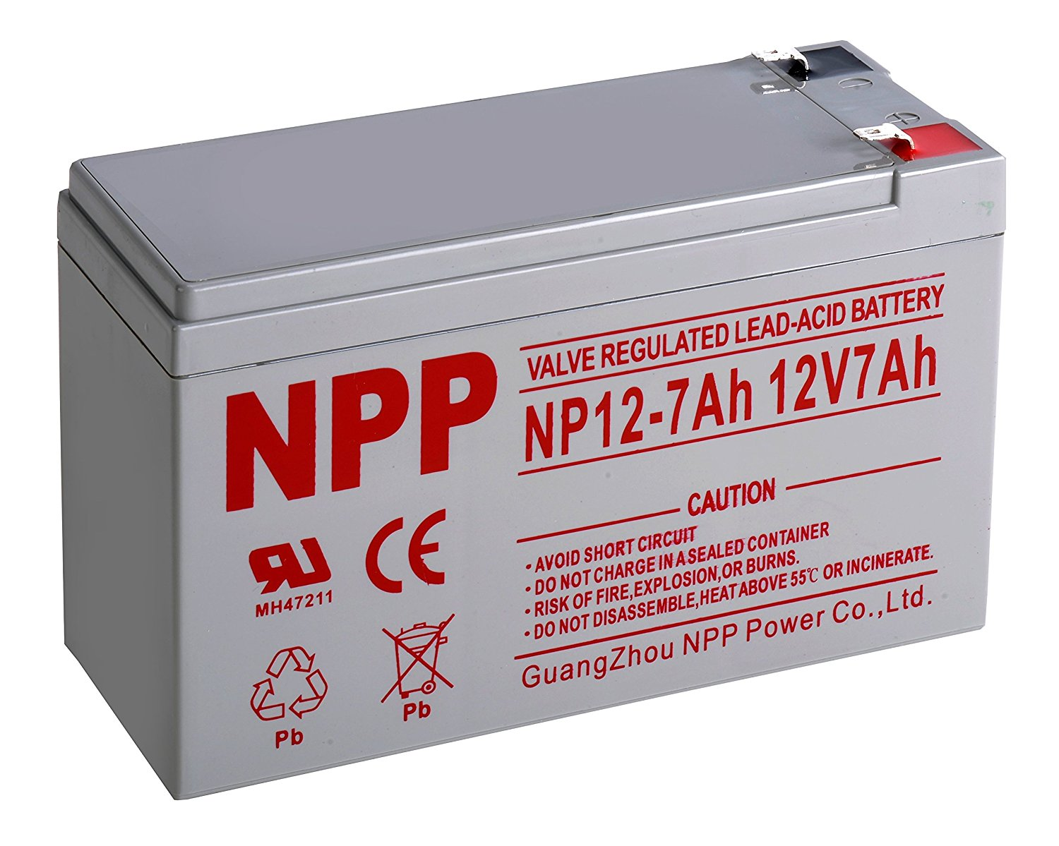 Npp 12v 7 Amp F1 Terminals Ups Rechargeable Sealed Lead Acid Battery Sealedleadacid Charger Circuits