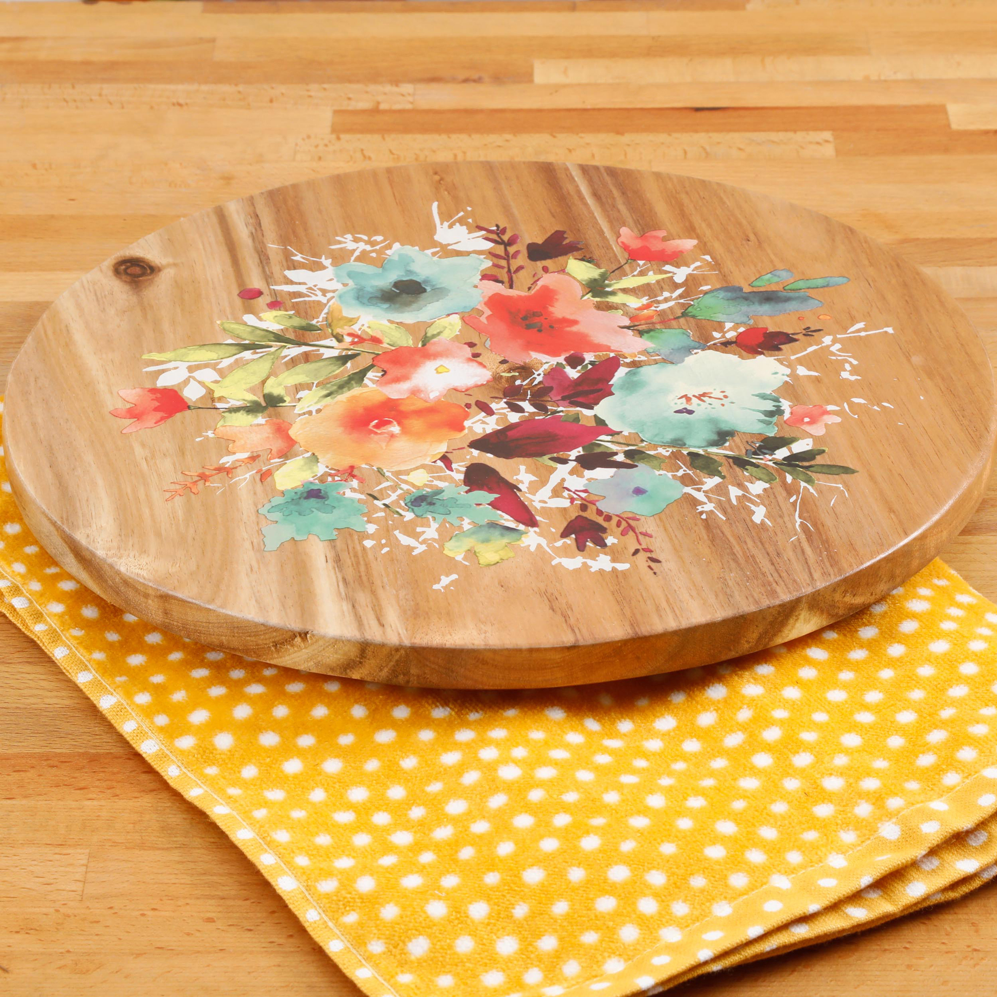 the pioneer woman willow 12inch lazy susan