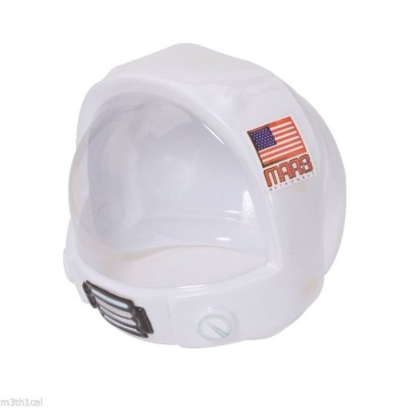 Childrens Mars Astronaut Costume Helmet Toy Space NASA Hat Mask Thin Plastic - Childrens Masks
