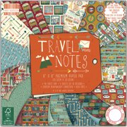 "First Edition Premium Paper Pad 8""X8"" 48/Pkg-Travel Notes"