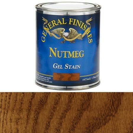 - General Finishes, Nutmeg Gel Stain, Pint