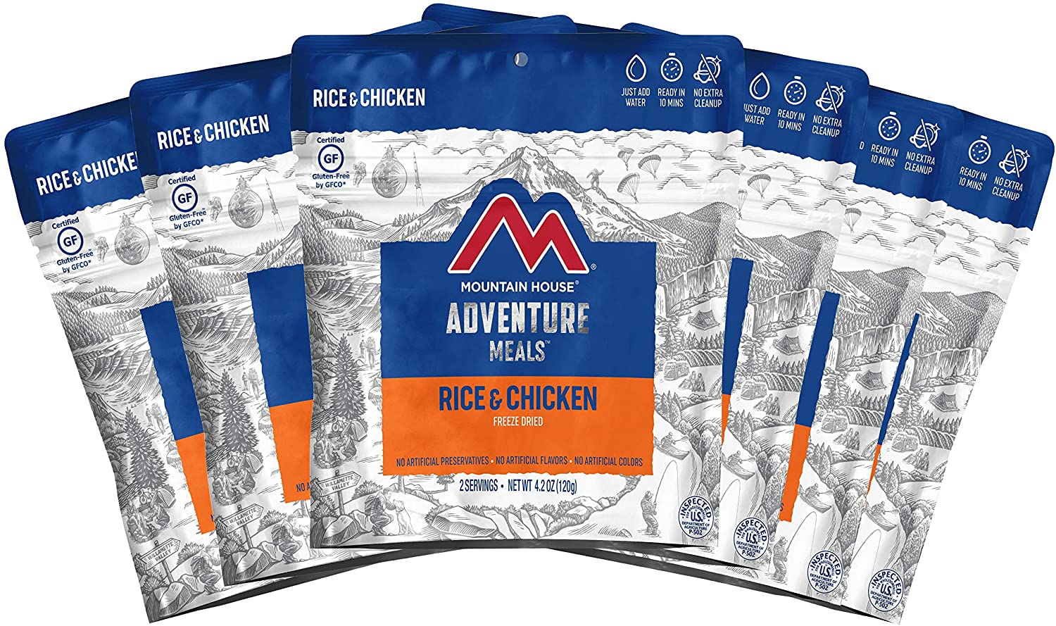 Mountain House Rice & Chicken | Freeze Dried Backpacking ...