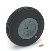 """Dubro Products Treaded Wheel, 3-3/4"""", Large Scale (1), DUB375TV"""