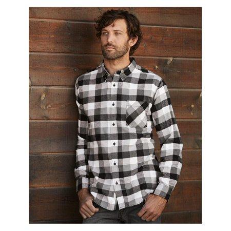 Brushed Flannel (Weatherproof Wovens - Fall Vintage Brushed Flannel Long Sleeve)
