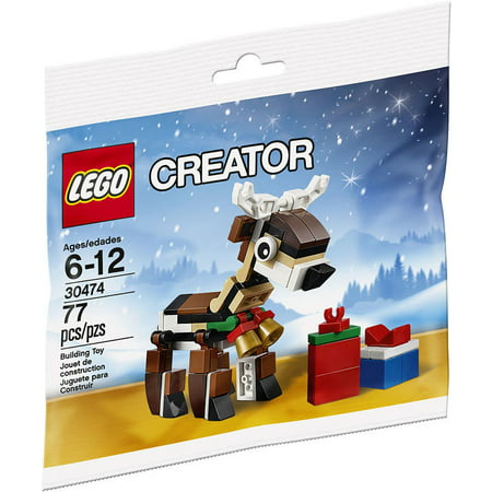 christmas 2016 reindeer mini set lego 30474 bagged