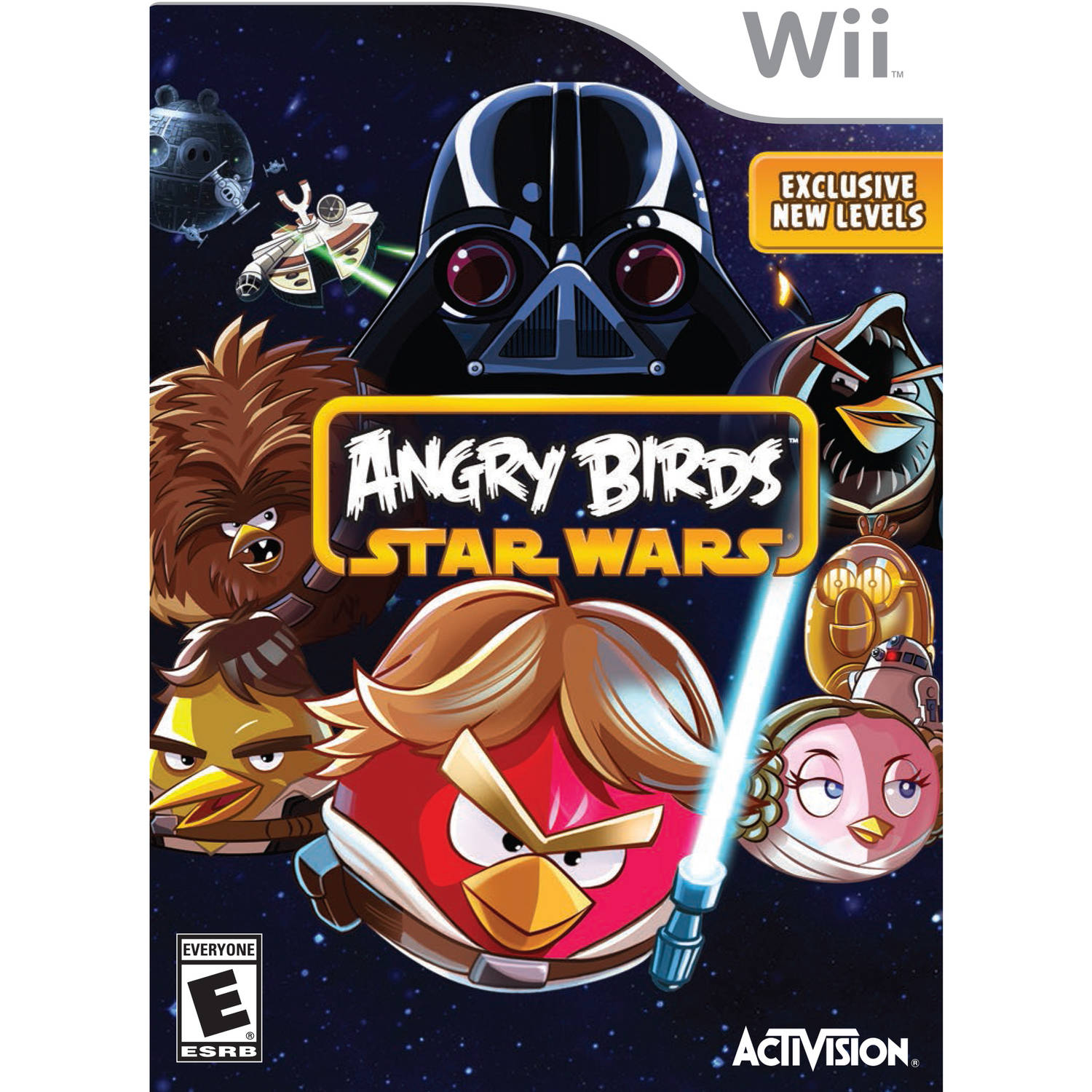 Rovio Entertainment Ltd. Angry Birds Star Wars (Wii)  -  Pre - Owned