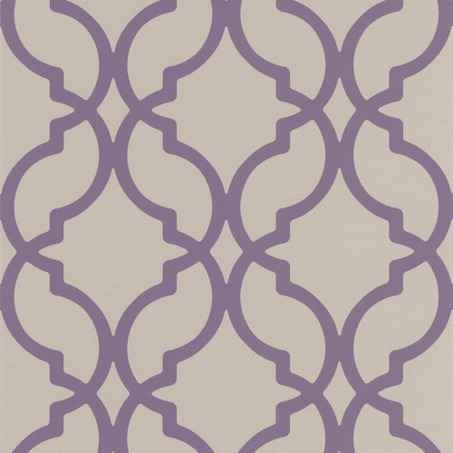 Brewster Home Fashions Decadence Harira Moroccan 33' x 20.5'' Geometric 3D Embossed Wallpaper