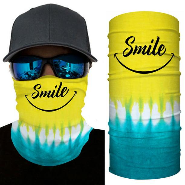 2Pcs Tube Bandana Scarf Neck Gaiter Head Face cover Multi-use Outdoor Cap Lot