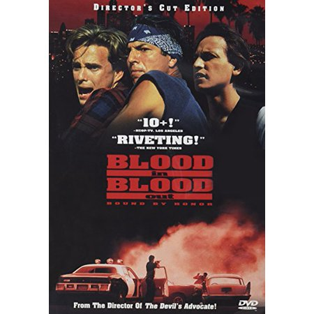 Blood In, Blood Out (Director's Cut Edition) (DVD) - Movie Director Clapboard