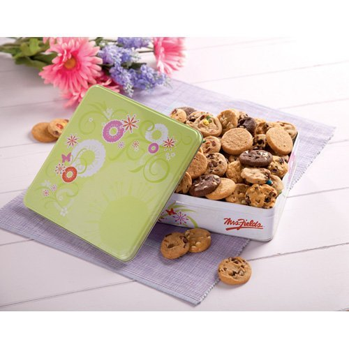 Mrs. Fields Springtime Tin with 60 Nibblers