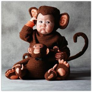 Tom Arma Monkey Baby Costume