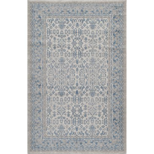 Momeni Brighton Ivory Border Area Rug (3'11x5'7) by Overstock