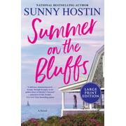Oak Bluffs: Summer on the Bluffs(Large Print) (Paperback)