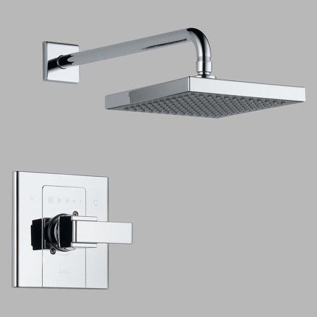 Delta Arzo Shower Trim Single Function Pressure Balanced Less Rough-in, Available in Various Colors