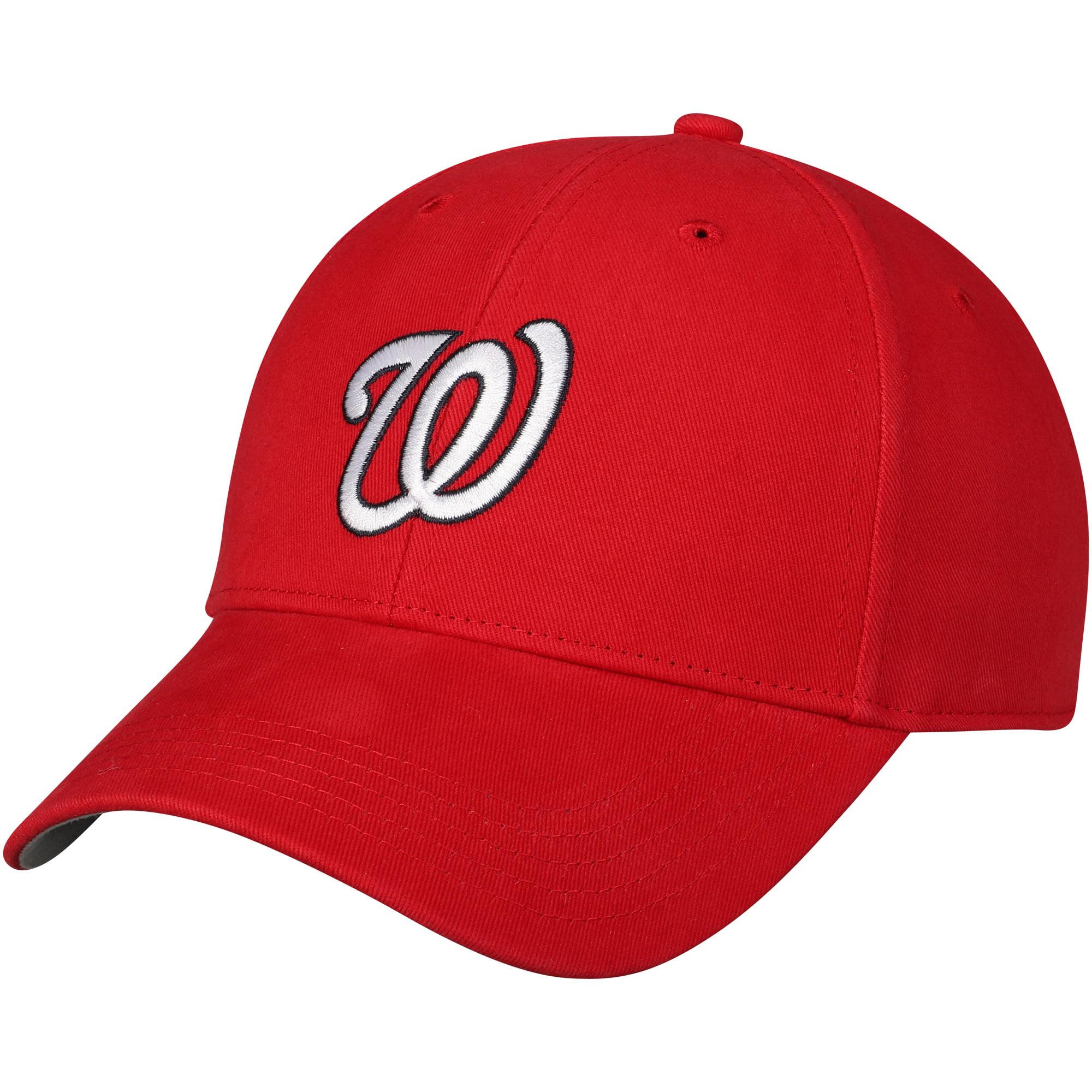 Washington Nationals '47 Youth Basic Adjustable Hat - Red - OSFA