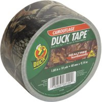 Duck Tape. Real Tree Hardwood Camouflage. 1.88 x 10 yards