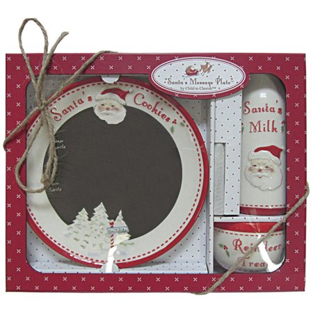 Message Plate (Child to Cherish - Santa's Message Plate Set -)