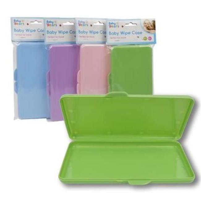 DDI 2321312 8 in. Baby Wipe Case, Assorted Color - 72 Per Pack - Case of 72
