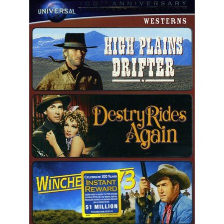 - Westerns: High Plains Drifter / Destry Rides Again / Winchester '73