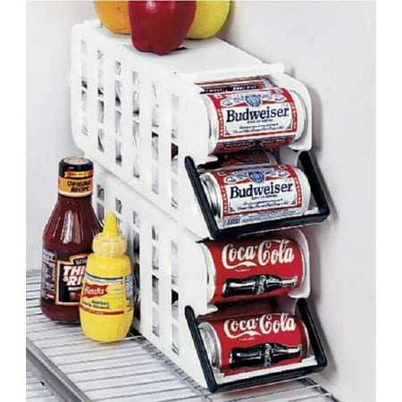 10 Unit Dispenser Rack - Imperial Home Store N' Tote Stackable Can Dispenser Durable Plastic Holder Rack