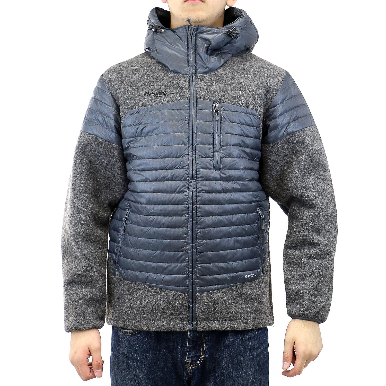 Bergans of Norway Osen Down   Wool Jacket Mens by Mens Wool Coats