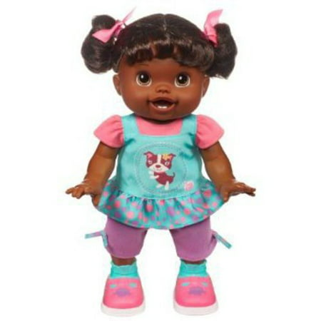 Baby Alive Baby Wanna Walk Doll, African American