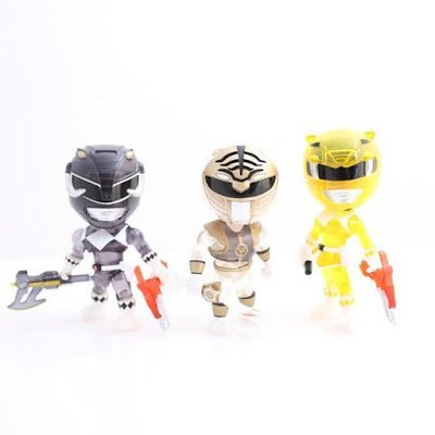 Power Rangers Mighty Morphin Crystal Ranger Exclusive Action
