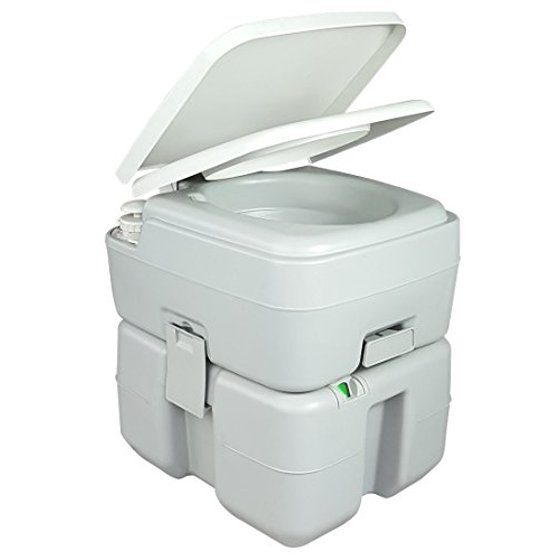 Jumbl Innovative Outdoor Portable Toilet with Level indicator Power ...