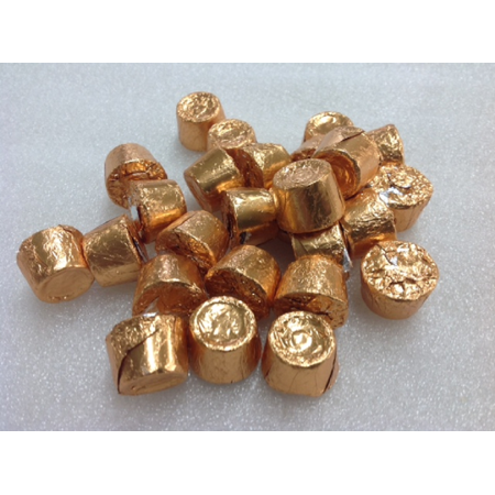 Bulk Rolos Gold Foil 1 pound foil wrapped Rolo candy](Bulk Halloween Candy For Sale)
