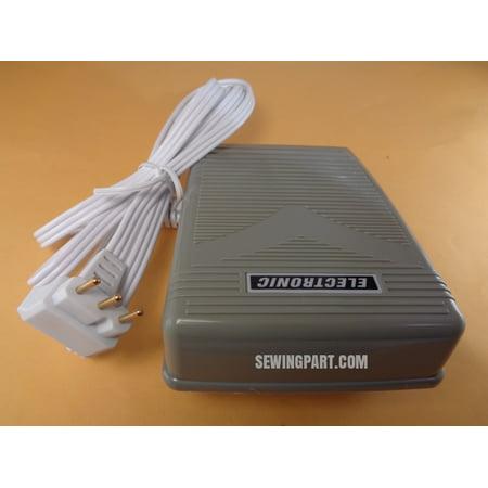 Foot Control Pedal 3 Prong Cord Fits Husqvarna Viking 224 HuskyStar,Mega Quilter ()