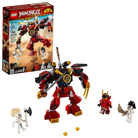 LEGO Ninjago The Samurai Mech 70665 (Lego Minifigure Kid Flash)