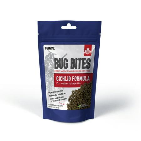 Fluval Bug Bites Cichlid Pellets 3.53 oz