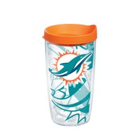 NFL Miami Dolphins Genuine 16 oz Tumbler with lid