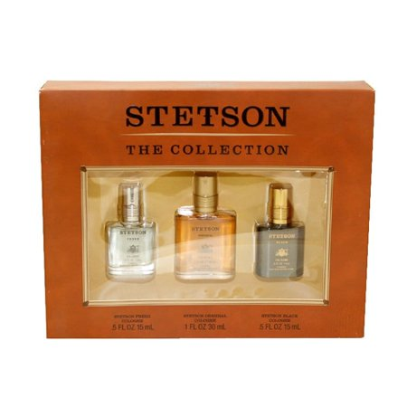 - Coty  Stetson Collection Men's 3-piece Gift Set
