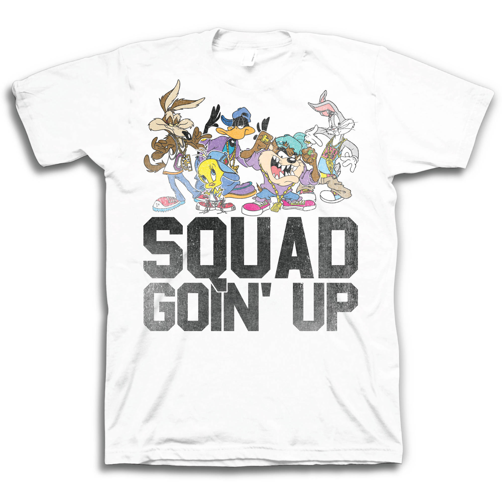 Looney tunes squad goin' up Big Men's short sleeve t-shirt
