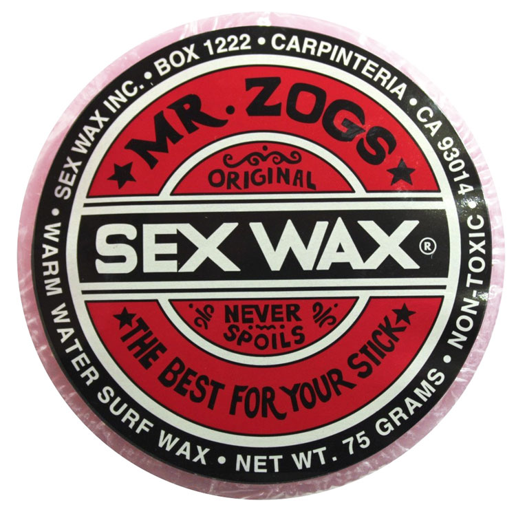 SEX WAX Mr Zogs OG WARM Light Red Strawberry Scented by