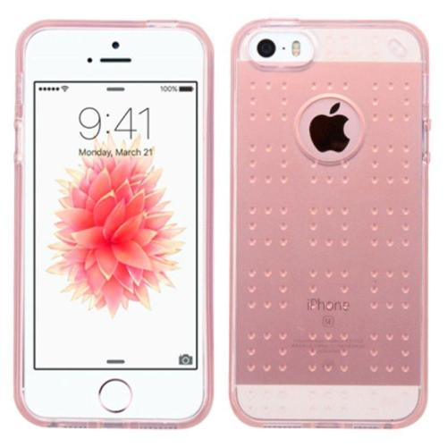 Insten TPU Case For Apple iPhone SE / 5 / 5S - Rose Gold