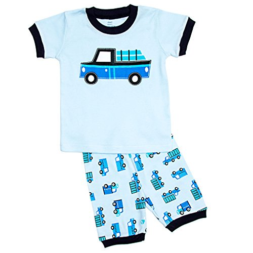 8b3b026df Elowel Pajamas - Elowel Little Boys Shorts Blue