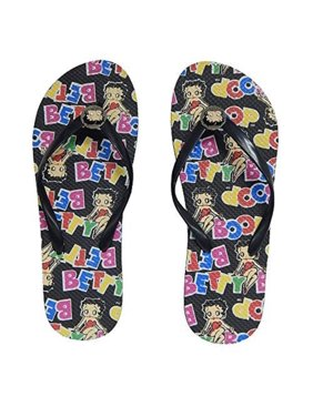 6ac8d552431 Product Image Betty Boop Women s Flip Flop Sandal Thong (Betty Name - 8