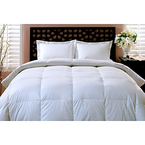 luxurious all year weight 100 white goose down comforter duvet king