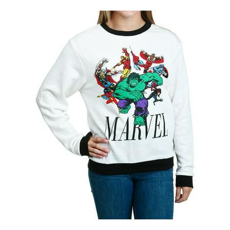 Marvel Comics Mens Avengers Hulk Run Sweatshirt